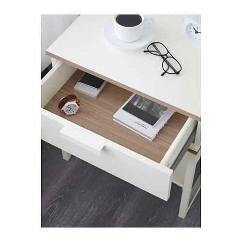 TRYSIL Bedside Table Dark Brownblack IKEA - Brimnes ikea bedside table