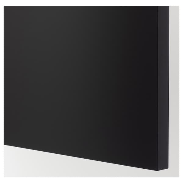 UDDEVALLA Cover panel with blackboard surface, anthracite, 62x220 cm