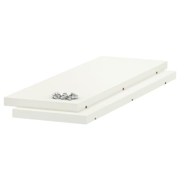 UTRUSTA Shelf, white, 20x60 cm