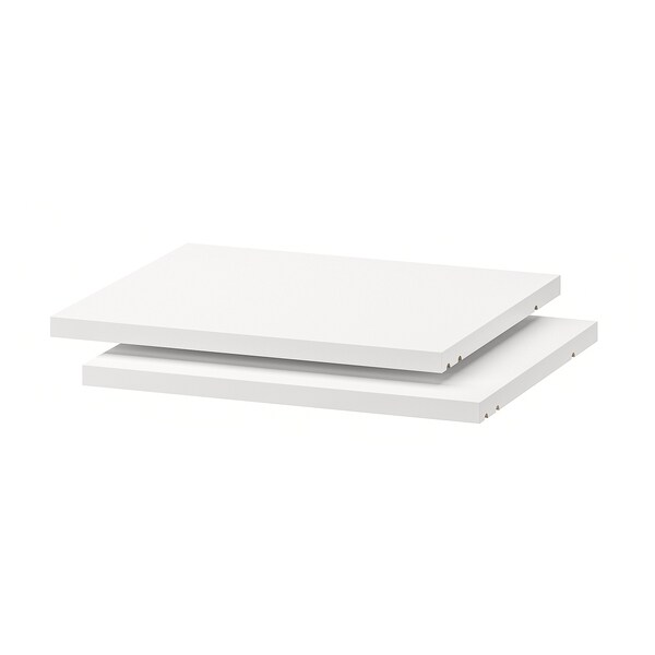 UTRUSTA Shelf, white, 40x37 cm