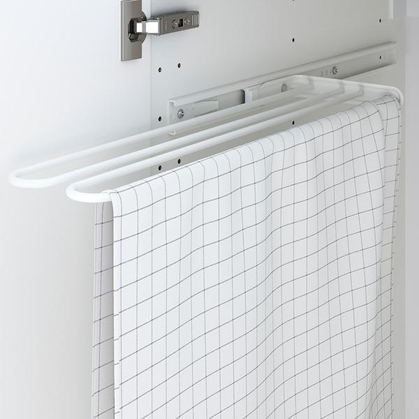 UTRUSTA Towel rail, white, 16 cm