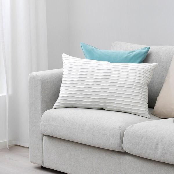 VÄNDEROT cushion white 40 cm 65 cm 900 g 1130 g