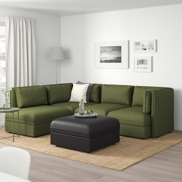IKEA VALLENTUNA Modular corner sofa, 4 seat