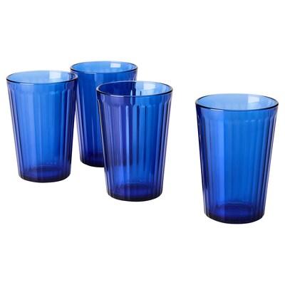 VARDAGEN Glass, blue, 31 cl