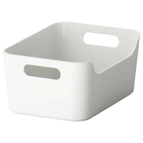 VARIERA box grey 24 cm 17 cm