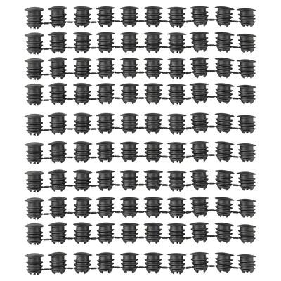 VARIERA cover cap black 100 pieces