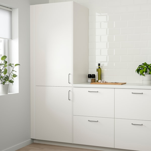 VEDDINGE Door, white, 40x140 cm