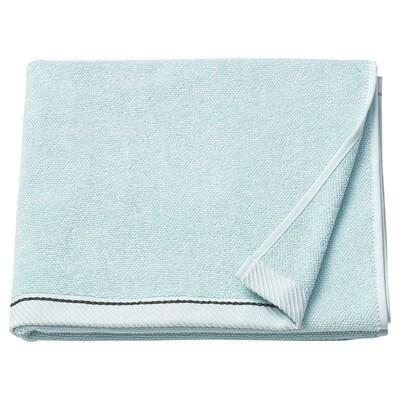 VIKFJÄRD bath towel light blue 475 g/m² 140 cm 70 cm 0.98 m²