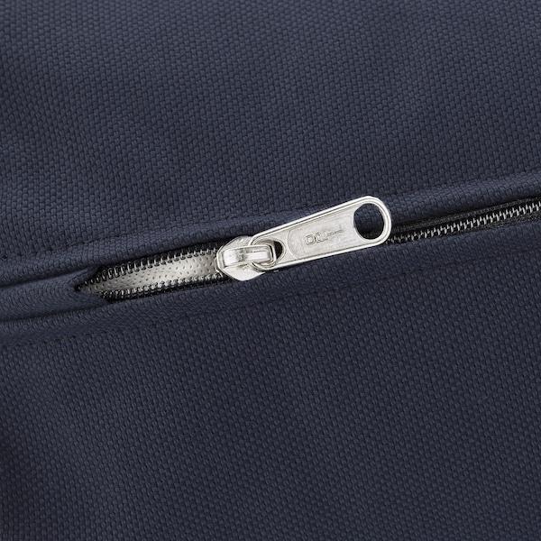 VIMLE Cover for corner sofa-bed, 4-seat, with open end/Orrsta black-blue