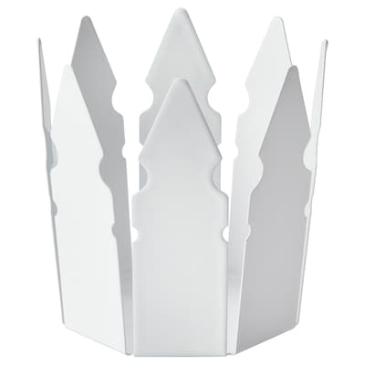 VINTER 2018 candle holder crown/white 9 cm