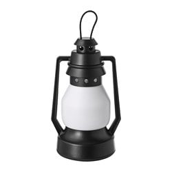 VINTER 2018 LED decoration lighting, battery-operated, lantern black
