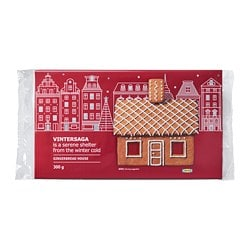 VINTERSAGA gingerbread house