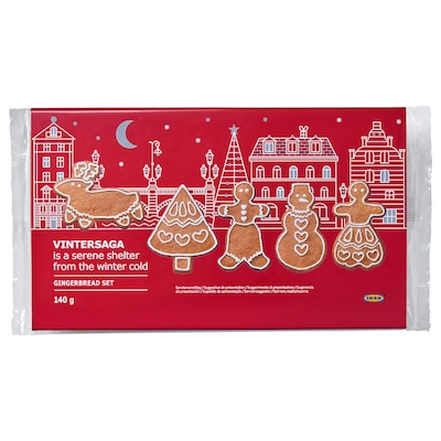 VINTERSAGA Gingerbread set