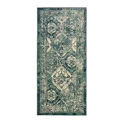 VONSBÄK rug, low pile, green