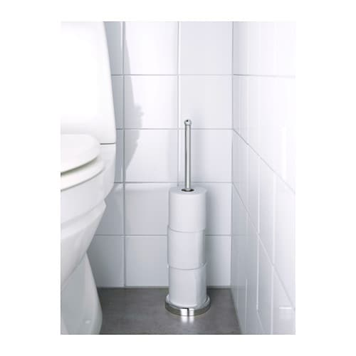 VOXNAN Toilet roll stand IKEA The chrome finish is durable and resistant to corrosion.