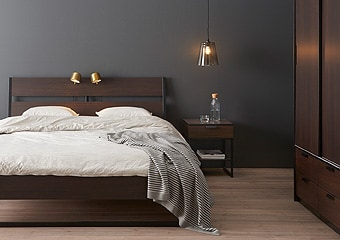 Ikea Furniture Bedroom. TRYSIL series Modern look with clean lines that calm things down Bedroom Storage Solutions  IKEA