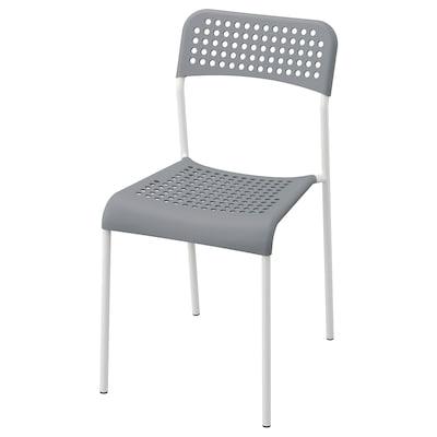 ADDE 아데 의자, 그레이/화이트