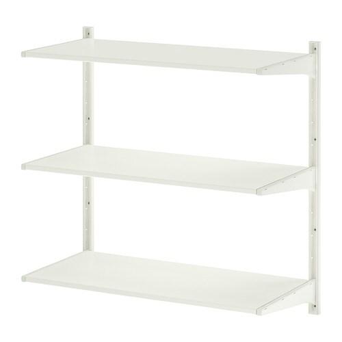 알고트 벽고정대/선반 - 85x40x84 cm - IKEA