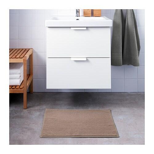 BADAREN 바다렌 욕실매트 IKEA 매우 부드러운 극세사 소재로 흡수성이 높고 빨리 마릅니다.