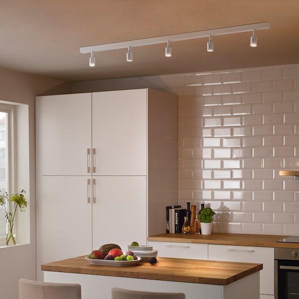 베베 LED천장트랙형조명5등 화이트 100 cm 3 cm 18 W 1500 루멘