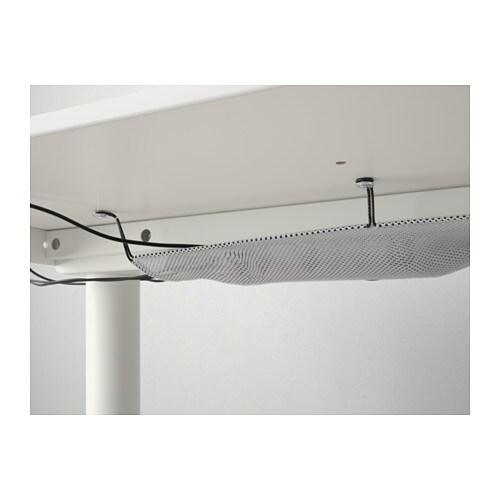 BEKANT 베칸트 코너책상R IKEA 10년 품질보증. 자세한 내용은 품질보증 브로슈어를 참조하세요. 다리 높이를 65~85cm로 조절할 수 있어서 나에게 꼭 맞는 높이에 상판을 설치할 수 있습니다.