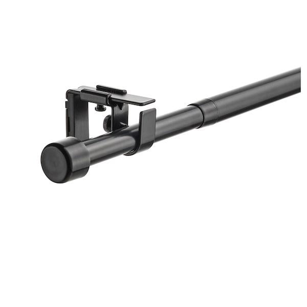 BEKRÄFTA 베크레프타 커튼봉세트, 블랙, 120-210 cm 19 mm