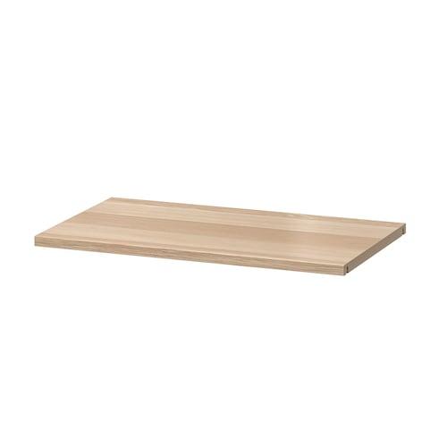 베스토 선반 화이트스테인 참나무무늬 56 cm 36 cm 20 kg