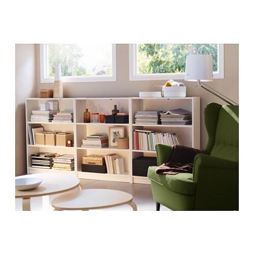 BILLY 빌리 책장 IKEA 선반의 높이와 간격을 원하는 대로 조절할 수 있습니다.