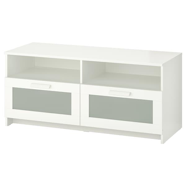 BRIMNES 브림네스 TV장식장, 화이트, 120x41x53 cm