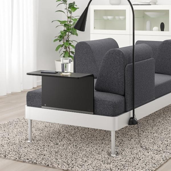 IKEA 델락티그 3인용소파+보조테이블+조명