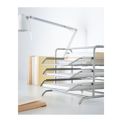 DOKUMENT 도쿠멘트 서류함 IKEA 선반을 당겨서 종이를 쉽게 꺼낼 수 있습니다.