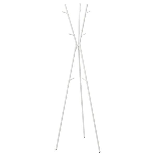 EKRAR 에크라르 스탠드옷걸이, 화이트, 169 cm