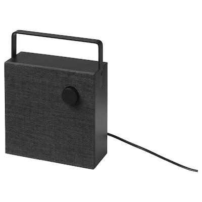ENEBY 에네뷔 블루투스 스피커, 블랙, 20x20 cm