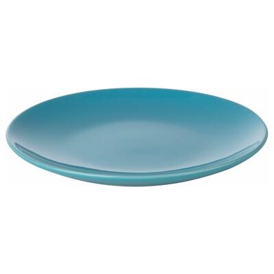 FÄRGRIK 페리리크 접시S, 터쿼이즈, 15 cm