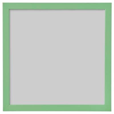 FISKBO 피스크보 액자, 라이트그린, 30x30 cm
