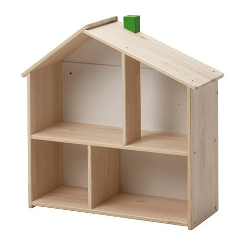 FLISAT 플리사트 인형의 집/벽선반 IKEA 인형의 집에서는 인형을 가지고 놀며 마음껏 상상의 나래를 펼칠 수 있어요. 아이가 자라면 인형의 집을 아이가 좋아하는 책이나 사진, 소품 등을 놓아두는 선반으로 활용할 수 있어요.