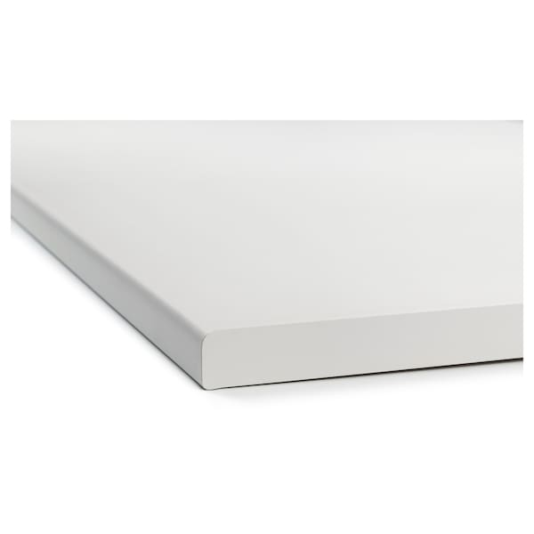 FYNDIG 퓐디그 조리대, 화이트/라미네이트, 220x60.6 cm