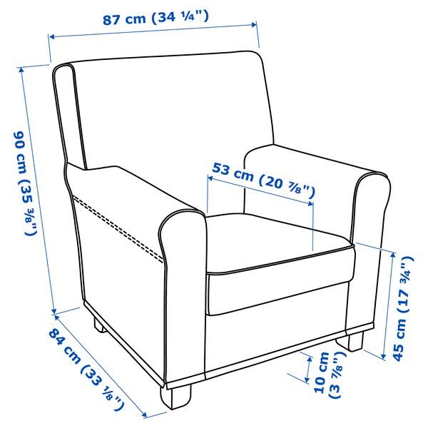 IKEA 그뢴리드 암체어