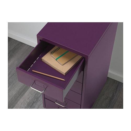 HELMER 헬메르 이동식서랍유닛 IKEA 서랍마다 라벨칸이 있어서 물건을 쉽게 정리하고 찾을 수 있습니다. 서랍에 스톱 기능이 있어서 안전하게 열 수 있습니다. 바퀴가 있어서 쉽게 옮길 수 있습니다.