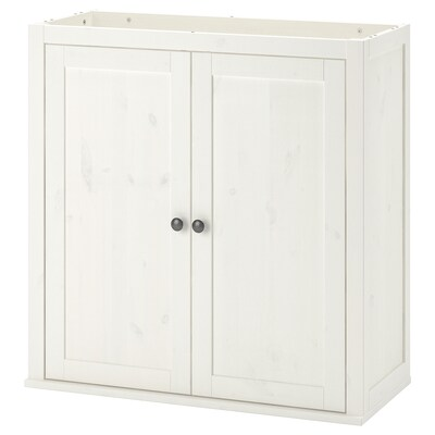 HEMNES 헴네스 여닫이책상추가유닛, 화이트 스테인, 89x90 cm