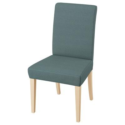 헨릭스달 의자 자작나무/핀스타 터쿼이즈 110 kg 51 cm 58 cm 97 cm 51 cm 42 cm 47 cm