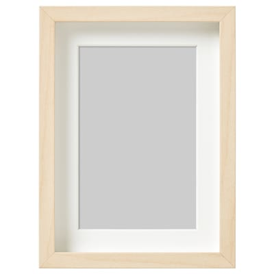 HOVSTA 호브스타 액자, 자작나무 효과, 13x18 cm