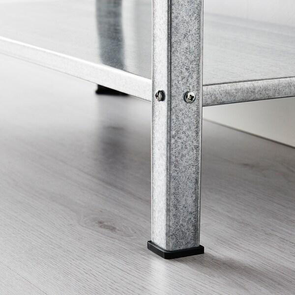 HYLLIS 휠리스 선반유닛, 실내외겸용, 60x27x140 cm