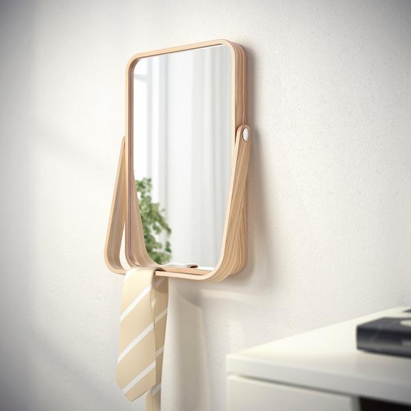 IKORNNES 이코르네스 탁상거울, 물푸레나무, 27x40 cm