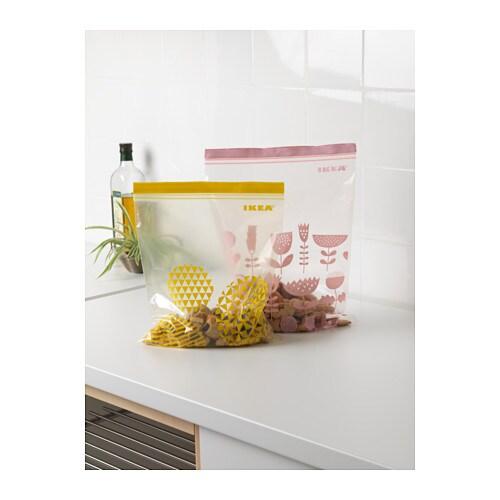 ISTAD 이스타드 지퍼백 IKEA 재밀봉이 가능해 반복해서 사용할 수 있습니다.