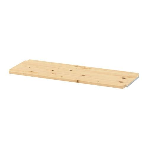 IVAR 이바르 선반 IKEA 무가공 원목은 내구성이 뛰어난 천연소재로 오일이나 왁스를 칠하면 내구성이 높아지고 관리도 편해집니다. 책꽂이에 선반을 추가하여 공간을 넓힐 수 있습니다.