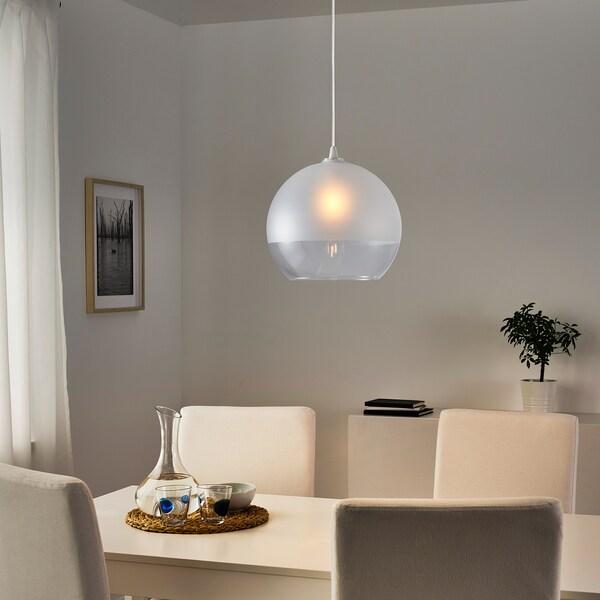 JAKOBSBYN 야콥스뷘 펜던트전등갓, 반투명유리, 30 cm