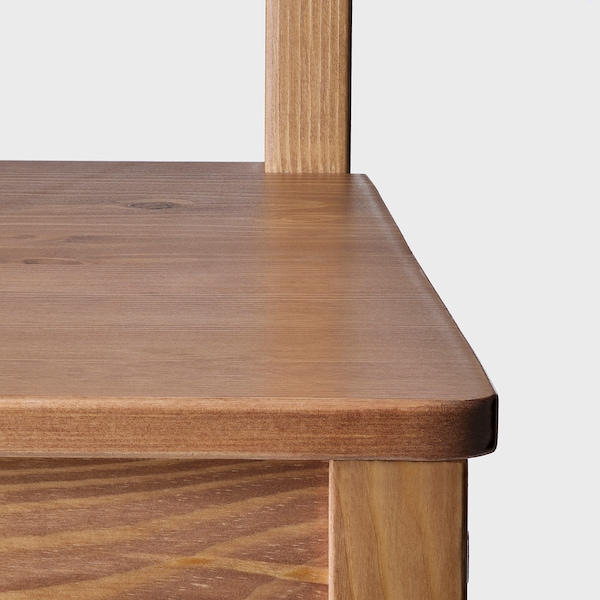 요크모크 의자 앤티크 스테인 41 cm 47 cm 90 cm 41 cm 41 cm 44 cm