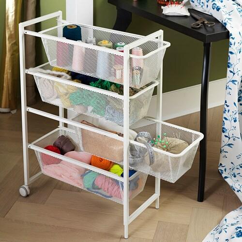JONAXEL 요낙셀 바퀴 IKEA 욕실 등의 습기가 많은 곳에서도 사용할 수 있습니다.