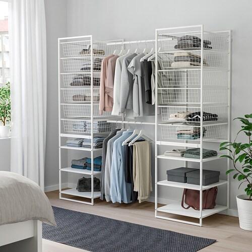 JONAXEL 요낙셀 프레임/철망바구니/옷장레일 IKEA